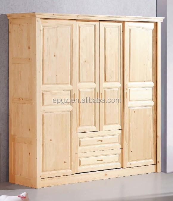 Buy Solid Wood Wardrobe Solid Wood Dressing Cabinet Bedroom Furniture