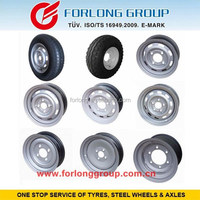 Tralier wheels and agricultural Implement wheels rim of tire