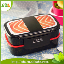 Wide selection two layers sushi hot and cool lunch box