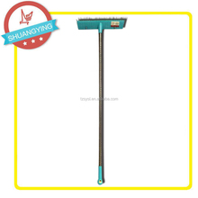 Hot sell floor push broom brush series with long iron handle SY3915