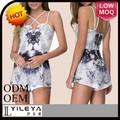 alta qualidade últimas seda elegante macacao shorts para as mulheres