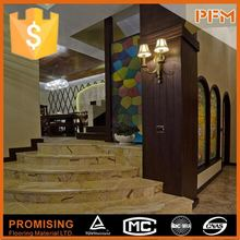 latest natural best price hot sale beautiful hotel use natural marble stair