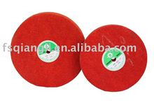 Grinding wheel-red ,abrasive wheels