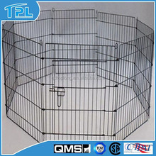 Durable black epoxy coating dog cage for sale