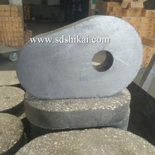 Refractory slide gate with upper nozzle and lower nozzle