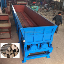 Hot Sale Two rollers wood log debarker for pine wood