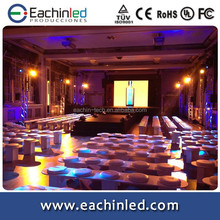 Stage Decor P3.9 Indoor Full Color LED Curtain /LED Video Wall for night clubs&disco