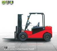 CPD50JC2 EP New Battery Operated 5.0t Forklift electric lift truck
