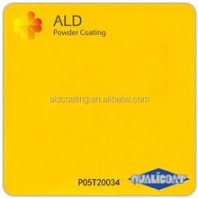 Ral 1026 bright yellow powder spray paint