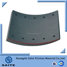 Best for heavy duty Truck parts Professional Disc Brake Lining, BPW 200, 100% asbestos free