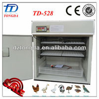 TD-528 full automatic chicken egg incubatrice