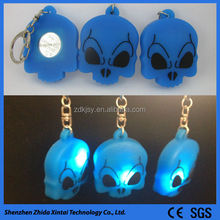 2015 newest design silicone cool hockey keychains