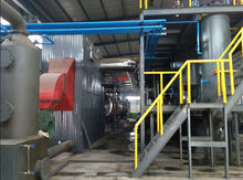 Large refinery rate waste tyre pyrolysis recycling oil machine automatic tire recycle plant whole production
