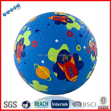 Playing Ground Ball Pool Balls