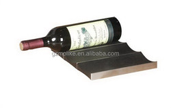 High-end updated 3 bottle faux leather wine carrier box