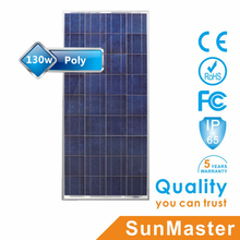 High quality photovoltaic panel 130w