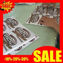 outdoor digital printed high precision pvc white car body sticker for advertising
