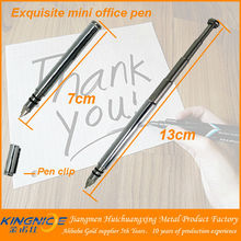 New product hot sale small stainless collapsible ballpoint pen
