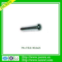 Philips cross recessed pan head chipboard screws