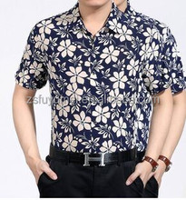 Print casual shirt for men branded low price casual shirts cheap pattern shirts wholesale alibaba