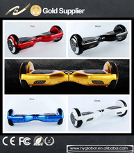 Outdoor entertainment 6.5inch wheel electric scooter have LED light