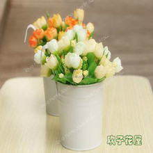 Hot Sale Atifical Peal Flower Potted Plant