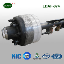 Made in China American Type Trailer Parts 20Ton Steering Axles