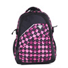 Movement leisure style plaid school backpack
