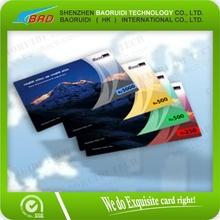 Tarjeta de prepago/rasguño de la tarjeta