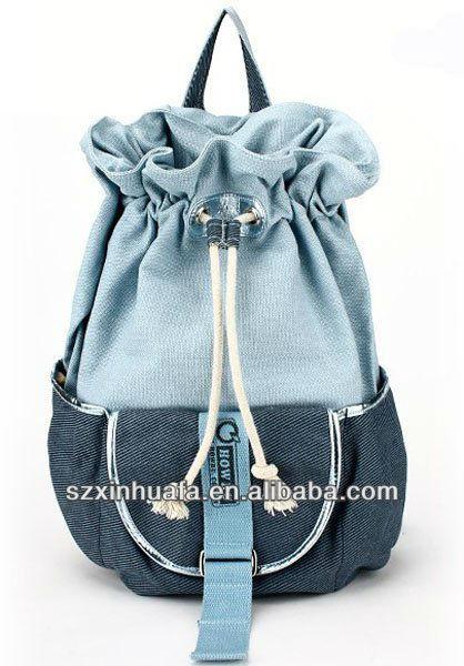 ( xhf- mochila- 146) mochilas de lona, mochilas de lona para las niñas adolescentes; las niñas lindas mochila jansport
