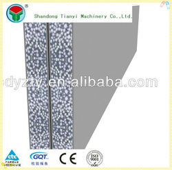 Low cost and high output wall panel making machine
