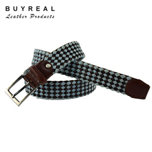 Mens Braided Leather Belts