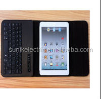 New Arrival!!leather case with keyboard for ipad mini