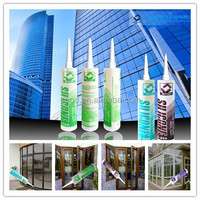 Acetic Cure glass Silicone Sealant in transparent