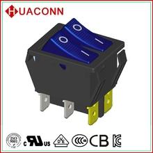 HS9-B-04K0L2-BL03 bottom price manufacture running machine with lamp rocker switch