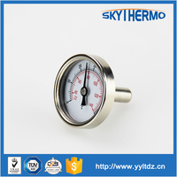waterproof test water temperature outdoor gas liquid bimetal thermometer