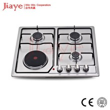 Russia Hot sale! Gas and Electric hot plate hob built-in Gas and electric hob