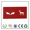 2015 Alibaba wholesale 45*25cm felt placemat for christmas decoration