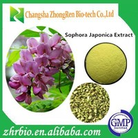 High quality Sophora Japonica Extract Quercetin 98%HPLC