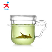 Wholesale Tea Cup with Cover and handle from China