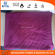 Jacquard woven red color modacrylic airline blankets for sale