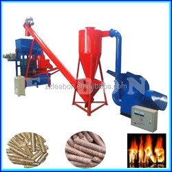Auto Watering Biomass Fuel Flat Die Pellet Machine for Sale
