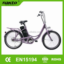 250W lithium battery elegance electric bike