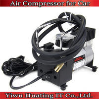 Metal Tire Inflator DC 12V Heavy Duty Portable Mini car Air Compressor