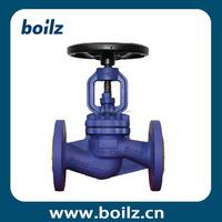 WCB water flow stop valve with handwheel