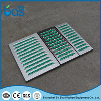 F400 specification kitchen floor water fencing drain ditch channel trench grating gutter cover