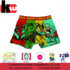OEKOTEX Reactive Print Cool Hero Pictures Boxer Shorts
