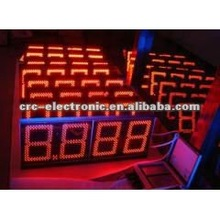2012 hot sale of LED Gas Price Display for gas station