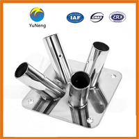 Customized Service for Metal Furniture Accessories, Metal Chair Stand Holder