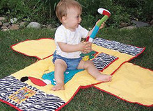 LillyPad 5-in-1 Tote Bag For Baby Playmat High Chair Shopping Cart Cover